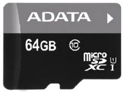 Picture of Adata Class 10 Micro SD 64GB