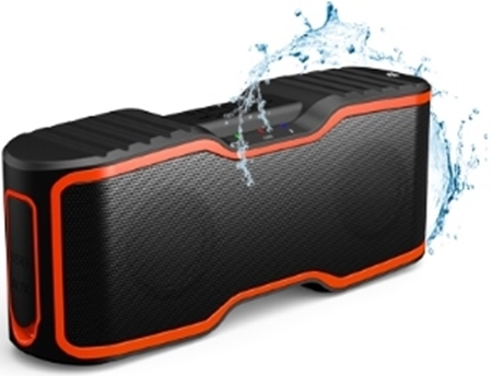 Picture of Aomais Sports II Black/Orange Bluetooth Speaker IPX7 Waterproof 10w RMS