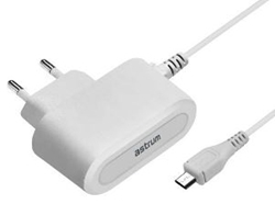 Picture of Astrum CH200 Home Charger 2.0Amp 1.5m Micro White