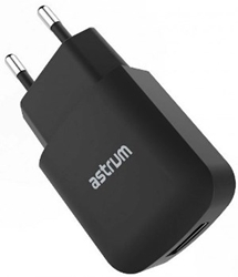 Picture of Astrum CH230 Home Charger 5V 2.0A Usb Black
