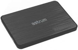 """Picture of Astrum Enclosure 2.5"""" SATA Usb3.0 Black"""