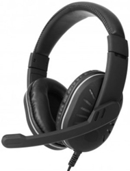 Picture of Astrum HS790 Headset Fix Mic Led USB Black