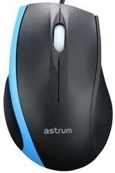 Picture of Astrum MU130 Optical USB+PS2 Black