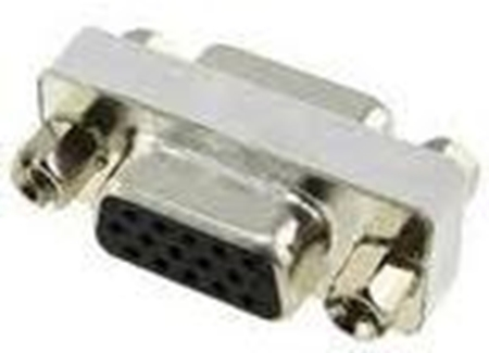 Picture of Astrum SVGA Female to SVGA Female Nickel Adapter