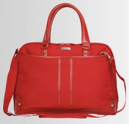 "Picture of Black Ladies 15.6 "" Laptop Bag - Red"