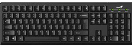 Picture of Genius KB100 Series USB Value Desktop Keyboard
