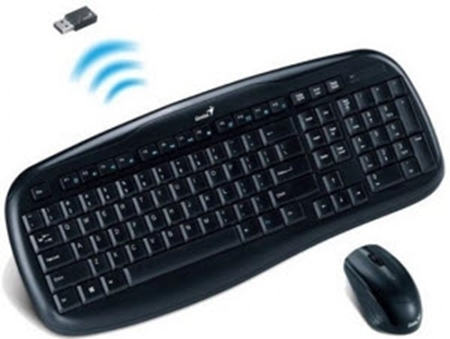 Picture of Genius Slimstar 8000X Wireless KB & Mouse