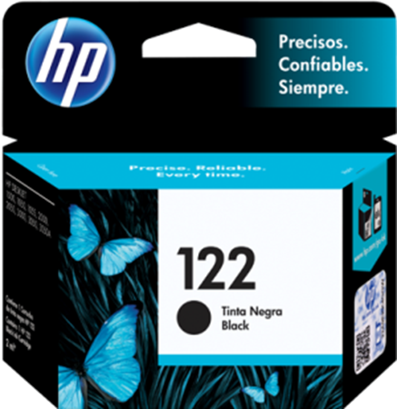 Picture of HP 122 Black Ink Deskjet Original