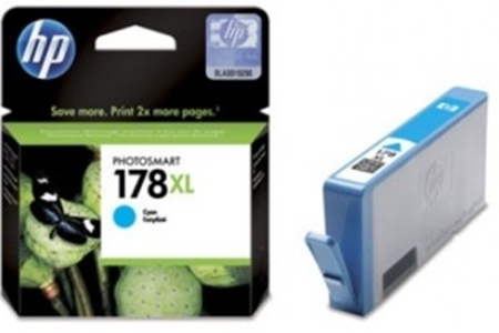 Picture of HP 178 XL Cyan Ink Cartridge