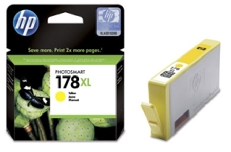 Picture of HP 178 XL Yellow Ink Cartridge