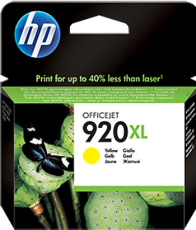 Picture of HP 920XL Yellow Officejet Ink