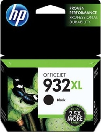 Picture of HP 932XL Black Officejet Ink Cartridge