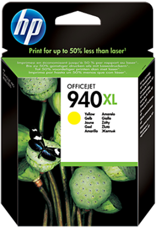 Picture of HP 940XL Yellow Pigment Ink