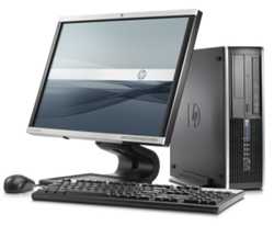 """Picture of HP Core i5-2400 4GB 250GB 19"""" Screen KB+MS Win 7 Pro(Ex-Lease)"""