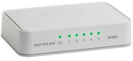Picture of Netgear 5 Port Fast Ethernet Switch
