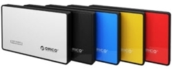 "Picture of Orico 2.5"" Sata USB3.0 Hard Drive Enclosure Available in Red, Blue, Yellow"