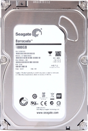Picture of Seagate 1TB Desktop Hard Drive SATA 3.5