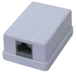Picture of Surface Mount Box Single RJ45 Cat5E