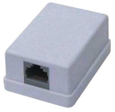 Picture of Surface Mount Box Single RJ45 Cat5E