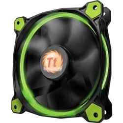 Picture of TT Fan Riing 12 LED Radiator Fan - Green