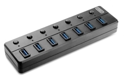 Picture of USB V3.0 7 Port HUB with Switch