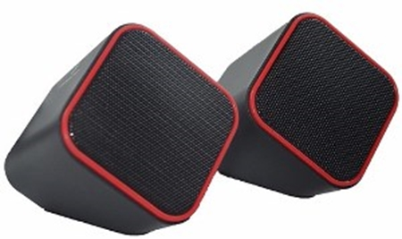 Picture of Volkano Diamond Series USB Speaker - Red