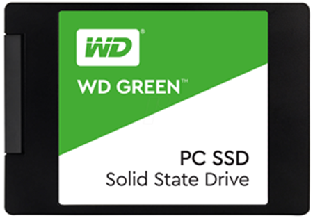 "Picture of WD Green 120GB 2.5"" SATA SSD"
