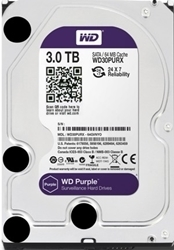 Picture of Western Digital Purple 3TB 3.5 5400RPM Surveilance Drive