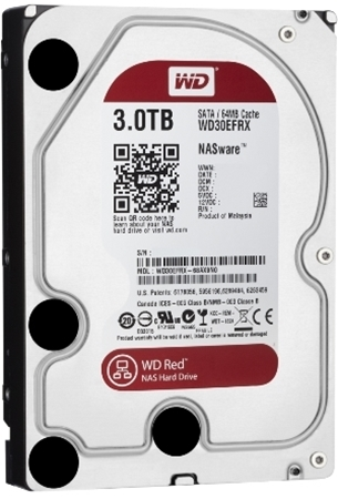 Picture of Western Digital Red 3TB 3.5 NAS Drive