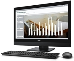"""Picture of Dell All-in-One i5-6500 8GB 256GB SSD 23.8"""" Screen Win8.1Pro"""