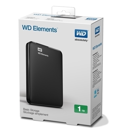"Picture of Western Digital 1TB External Had Drive 2.5"" USB3.0"