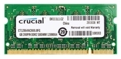 Picture of Crucial 2GB DDR2 800Mhz Laptop RAM