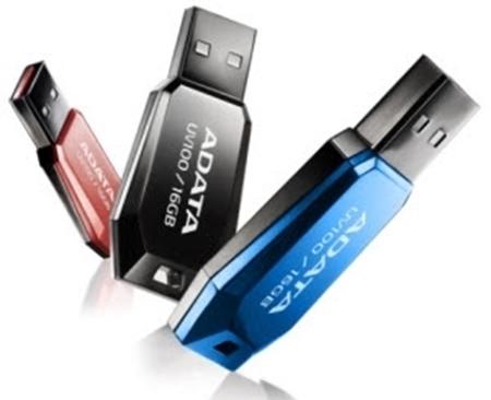 Picture of Adata UV100 32GB USB 2.0 Flash Drive