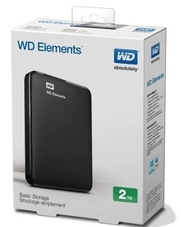 "Picture of Western Digital 2TB External Had Drive 2.5"" USB3.0"