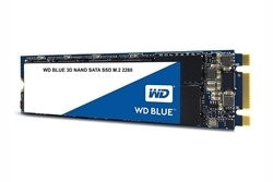 Picture of WD Blue 500GB 3D NAND SATA M.2 2280 SSD