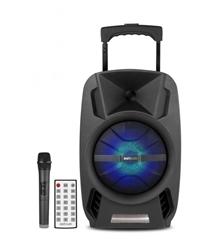 Picture of Wireless Trolley Speaker + Tweeters 30W RMS  / AUX / TF / USB / FM Radio