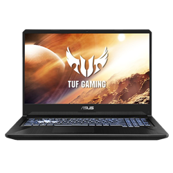 "Picture of Asus FX705D AMD Ryzen 7 R7-3750H 16GB 512GB SSD GTX1660Ti 17.3""FHD Win10H"