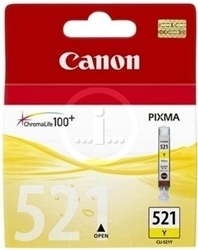 Picture of Canon CLI-521 Yellow ink