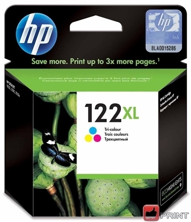 Picture of HP 122XL Tri-Colour Ink Cartridge AIO 1050/2050 100Pgs @5%