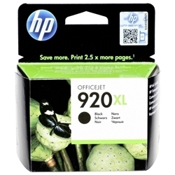 Picture of HP 920xl Black Officejet Ink Cartridge 1200 pages @ 5%