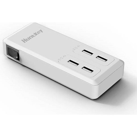 Picture of Huntkey (SSK407) Multi 4 Point Usb Charger