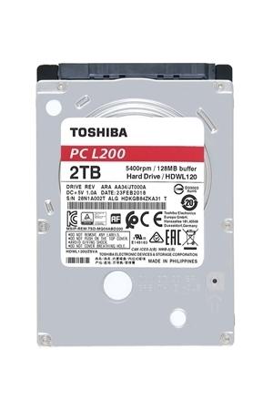 "Picture of Toshiba L200 2TB 2.5"" SATA Laptop Hard Drive"