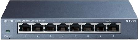 Picture of TP-Link SG108 8-Port Gigabit Desktop Switch