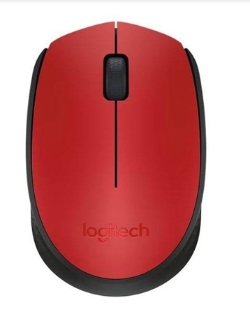 Picture of Logitech M171 Wireless Mouse Red