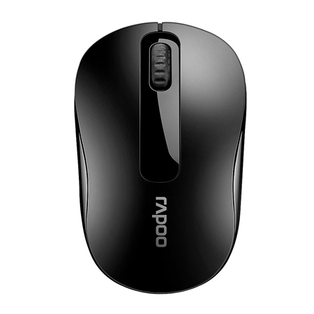 Picture of Rapoo M10 Plus Wireless Optical Mouse - Black