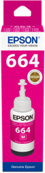 Picture of Epson 664 T6643 Magenta Ink Bottle 70ml