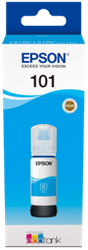 Picture of Epson 101 EcoTank Cyan Ink Bottle 70ml