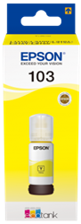Picture of Epson 103 EcoTank Yellow Ink Bottle 65ml