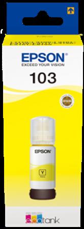 Picture of Epson 103 EcoTank Yellow Ink Bottle 65ml