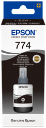Picture of Epson 774 T7741 Pigment Black Ink Bottle 140ml